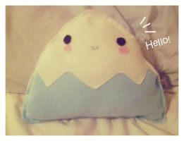 Mt. Fuji Plushie by pullmeoutalive