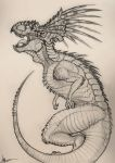 tropical dragon by KIRILL-PREDATOR