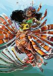 Lionfish mermaid by Pendalune