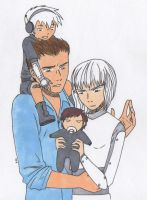 The MegaGirl Family by PerseusXAndromeda