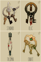 Klefki Variants by vellumed
