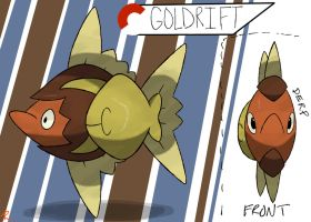 Sun Fish Fakemon by TRspicy