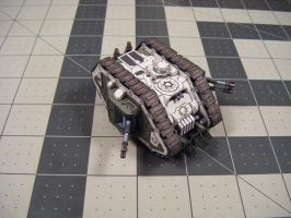 Warhammer 40K - Death Guard Proteus IId by Dented-Rick