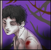 Hannibal - Nightmare against the wall by FuriarossaAndMimma