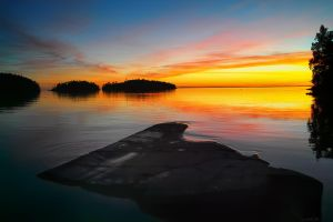 Sunset.. Valaam Islands... _6_ by my-shots
