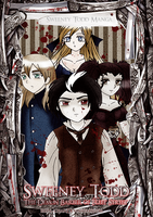 Sweeney Todd manga Cover by Eilyn-Chan