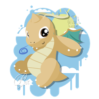 Baby Dragonite by SteveKdA