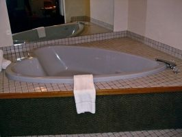 Heart Shaped Jaccuzi I by Baq-Stock