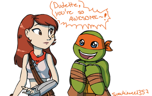 AT: Scarlett and Mikey by Suzukiwee1357