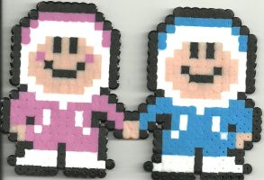 Ice Climbers by Ravenfox-Beadsprites