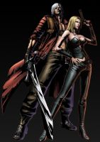 Dante and Trish V2 by nick511