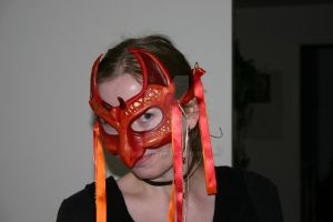 Red Dragon Mask by Freja11