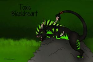 Toxic Blackheart Adoptable (draw to adopt) by dragonlover1290