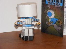 Centuri Paper Toy 5 by IdeatoPaperStudios