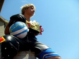 Tidus look the sky.... by Sommum