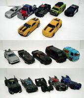 Die-Cast Movie and TV Cars by CyberDrone