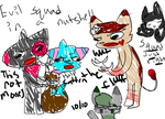 Evil Squad In A Nutshell by LydiaOrcatToon