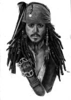 Jack Sparrow - WiP (take 2) by Red-Szajn