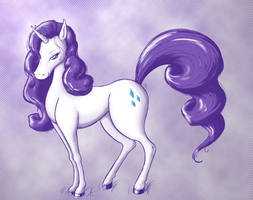 Miss Rarity by basserist