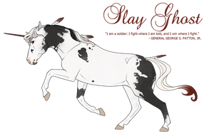 Slay Ghost by Queerly