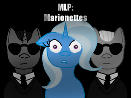 MLP: Marionettes Cover Art by Kendell2