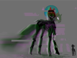 MLP Glitch golem pony auction 48 CLOSED by ElkaArt