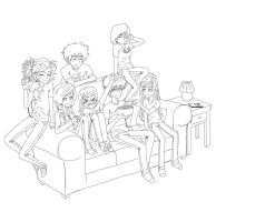 finished lineart by obsessioninhumanform