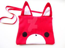 Red Fox Bag by CosmiCosmos