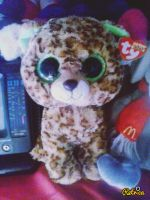 My TY Beanie Boo Speckles In Hudson Effect 2 by PoKeMoNosterfanZG