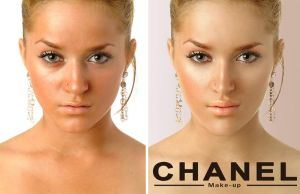 Before and CHANEL by widerlogo