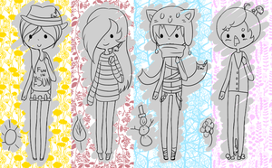 Choose Your Own Palette: Seasonal Adopts [CLOSED] by RideAlongWithMe