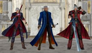 Devil May Cry - The Demon Slayers by IshikaHiruma