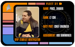Fleet 31 ID card by ZanderYurami
