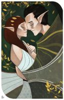 Dragon Age Inquisition Card by SarahJaneArt