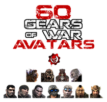 Gears of War Avatars by Autopsyrotica-Art