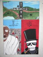 vodou paintings by 2amaltars