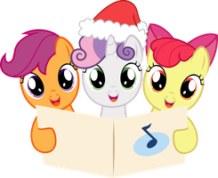 Cutie Mark Crusader Carolers by Cyberglass