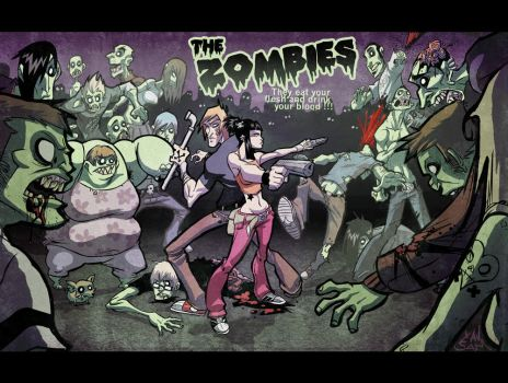 ZOMBIES, collab with XAV by Sam-M