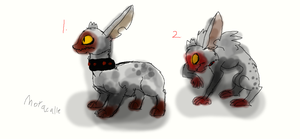 WHICH BODEH Looks Better for dis guy XD by Moracalle