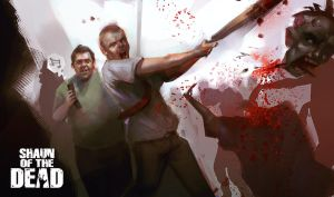 Shaun of the Dead by puinkey