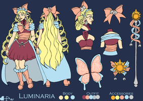 Luminaria Reference Sheet by Heart-of-Amethyst