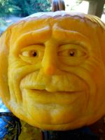pumpkin sculpt by DwayneRushfeldt