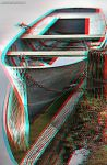 Anaglyph boat by JoelRemy222