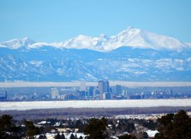 Denver Skyline by hyperjet