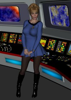 Seven Of Nine TOS by SciFiZone