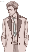 Castiel by causticCardinal