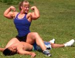 Wendy on top muscled by Turbo99