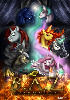 Couverture Fanfic B.A.Z by Mekamaned