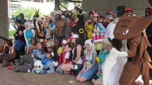 A-Kon 23: Massive Pokemon Group by Inept-Evil-Genius