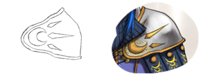 Shoulder Armor - Rough Design by boxthissideup